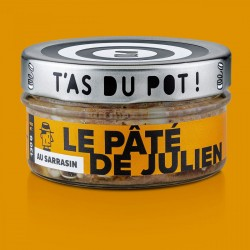 Le pâté de Julien au Sarrasin T'as du Pot 130g