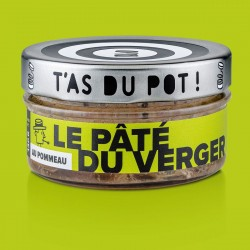 Le pâté du Verger au pommeau T'as du Pot 130g