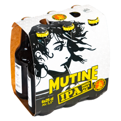 Mutine IPA - Carton 4 Packs 6x25cl