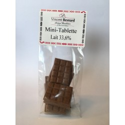 Mini Tablette Lait 33,6%