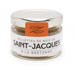 Rillettes de Noix de Saint-Jacques Groix & Nature 30g
